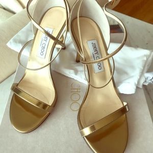 Jimmy Choo strappy heels - Hesper, mid heel height